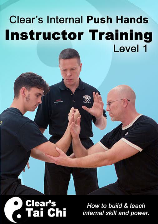 clears internal push hands instructor training