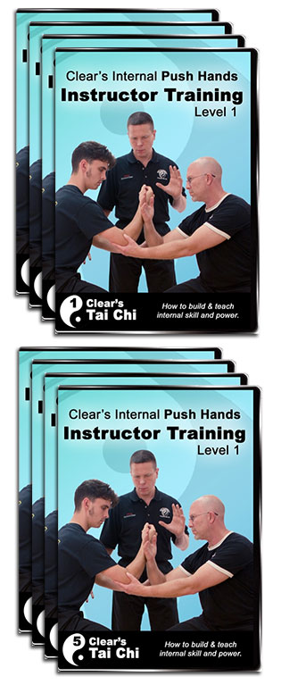 push hands instructor training course package